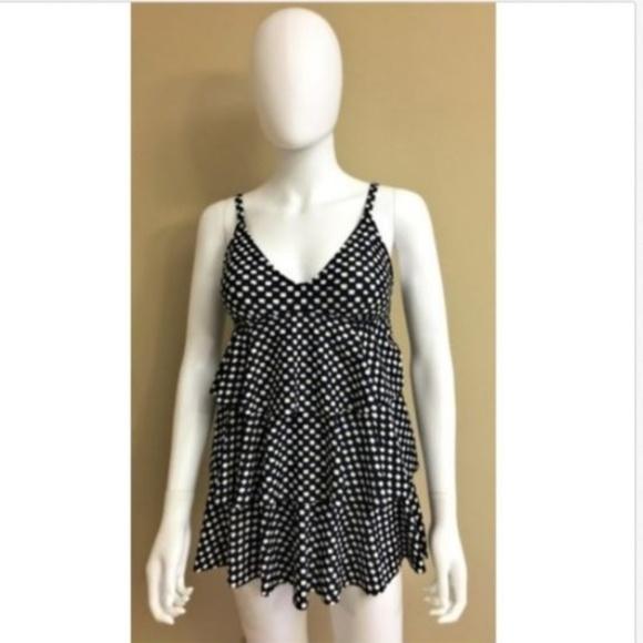 830b50fd7d76c Jaclyn Smith Swim   Suit Skirted Size 8 Blk   Poshmark